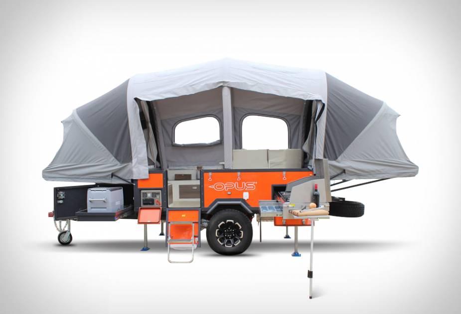 Une tente-caravane gonflable pour faciliter la tâche des voyageurs