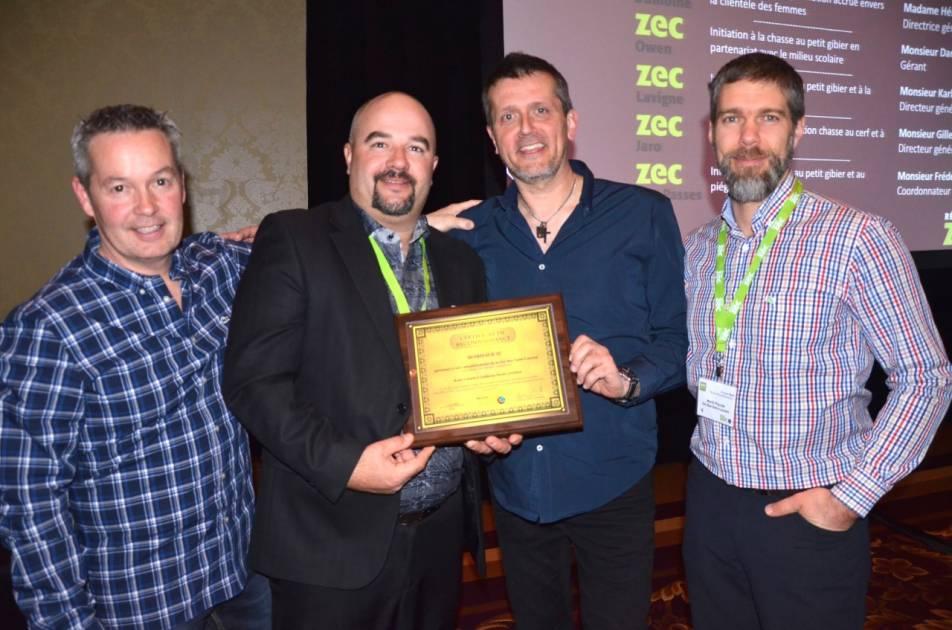 Trois zecs de l'Est du Québec reconnues par le Réseau ZEC