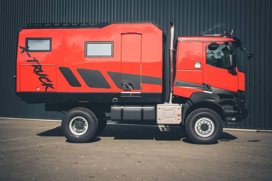 Le X-Truck : un VR tout-terrain tout à fait unique
