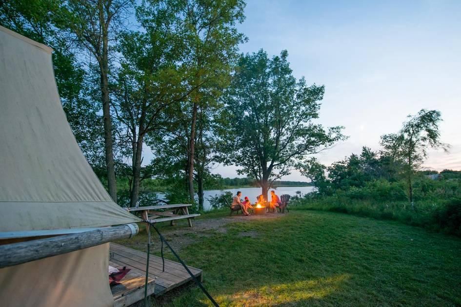La SÉPAQ propose ses meilleurs endroits pour commencer sa saison de camping