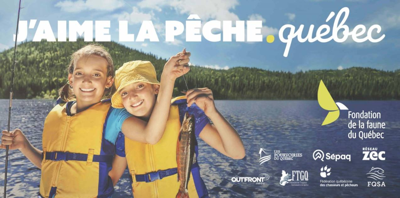 La Fondation de la Faune lance «J'aime la pêche.québec»