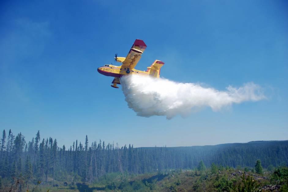 Les avions-citernes commencent leurs exercices printaniers