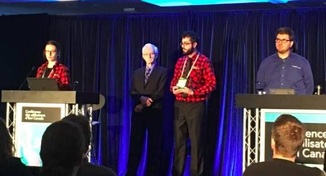 ZECS Québec mérite le Prix d'excellence d'ESRI Canada
