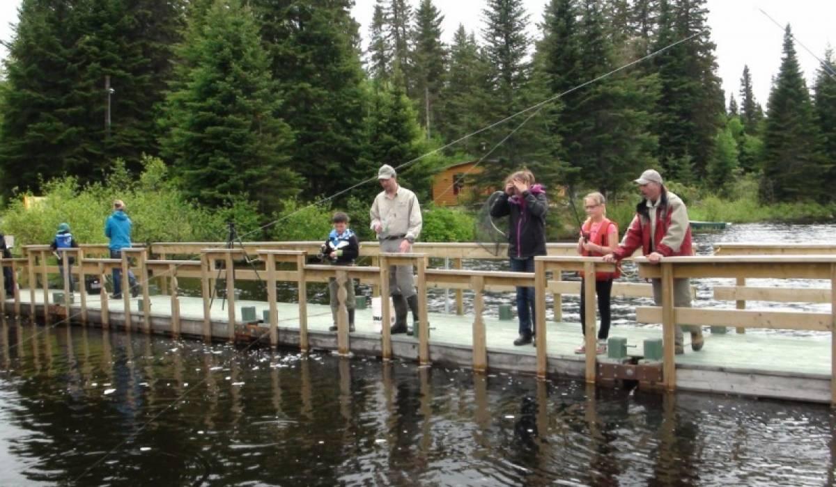 Plus de 17 800 pêcheurs en herbe cet été au Québec