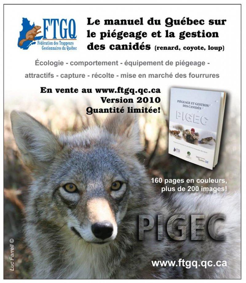 De nouveaux manuels PIGEC sont disponibles pour les amateurs