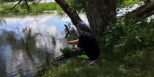 Les pêcheurs de l'Estrie se réunissent ce dimanche sur la rivière Yamaska