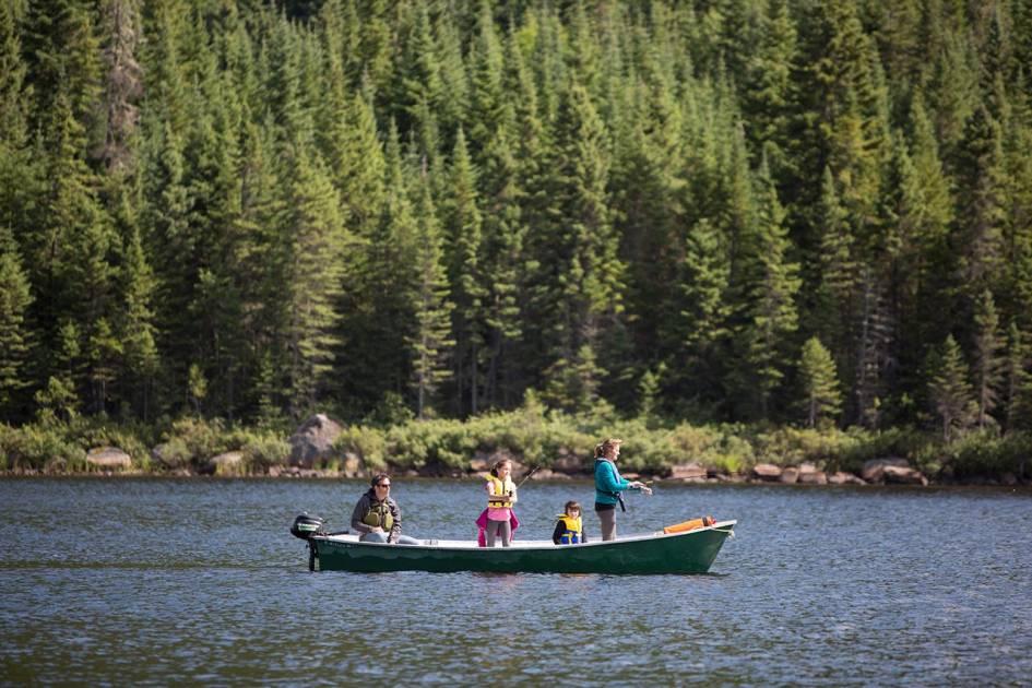 Ouverture de pêche retardée dans la réserve des Laurentides
