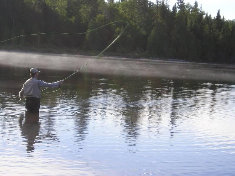 C'est parti pour la pêche du saumon atlantique au Québec