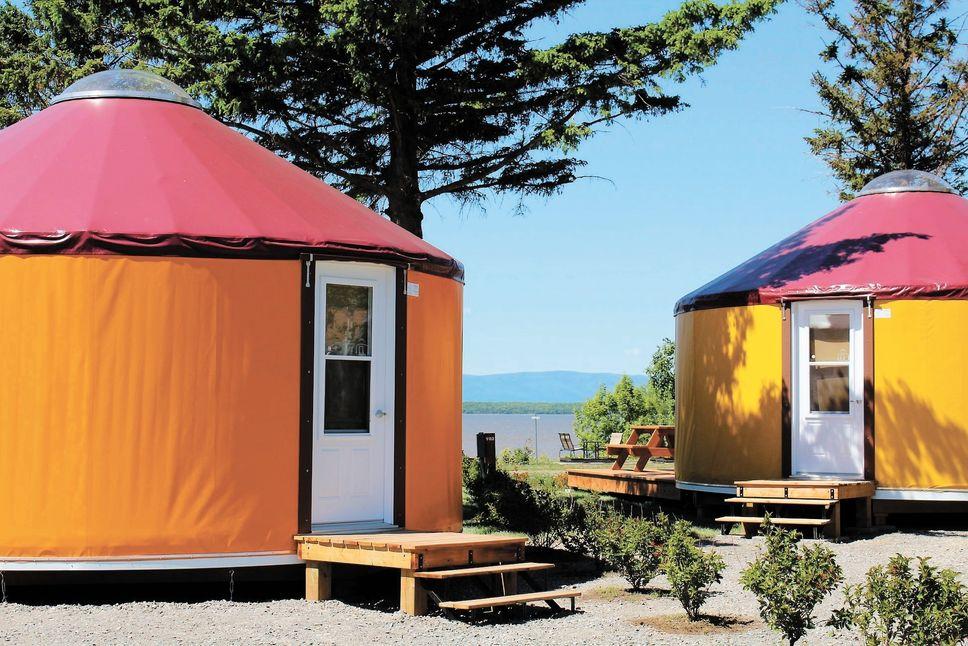 Le Camping Pointe aux Oies innove de belle façon