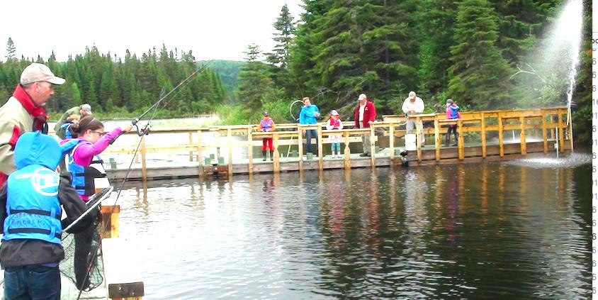 La réserve Rimouski tient sa traditionnelle activité « Pêche en herbe »