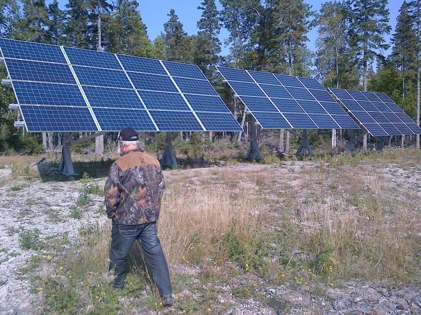 SÉPAQ-Anticosti: cerfs et énergie solaire vont très bien ensemble!