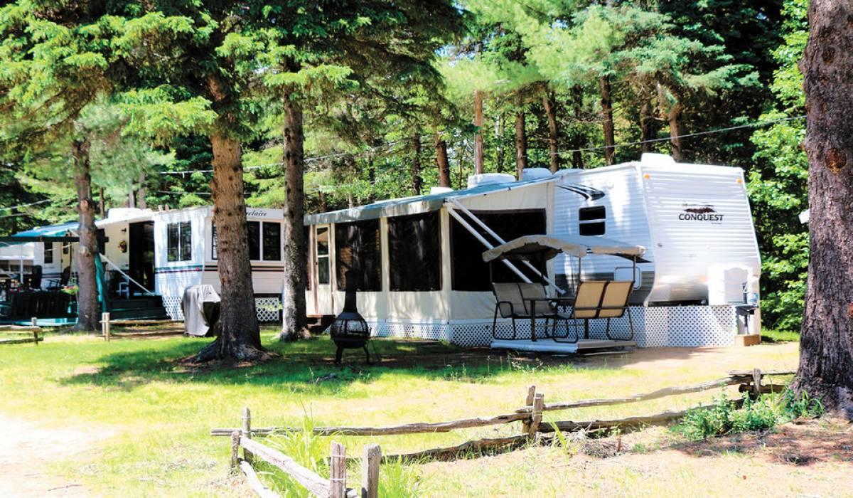 Attention à la chaleur extrême sur votre unité de camping