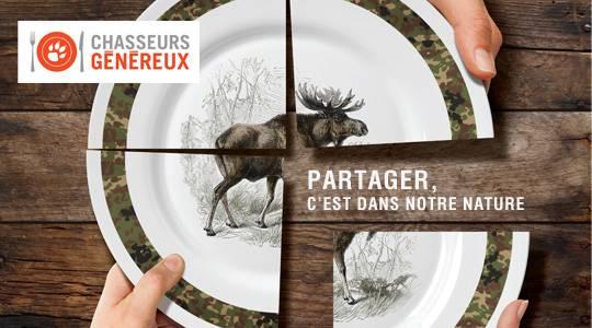 «Chasseurs généreux» se poursuit partout au Québec!