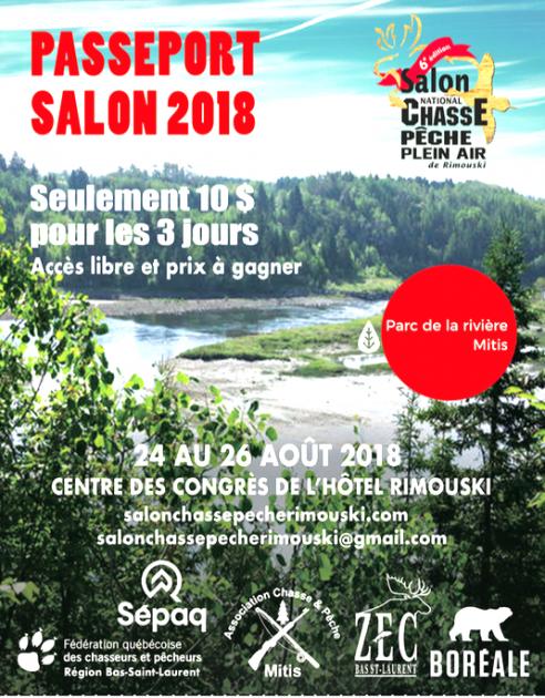Un accès illimité avec le Passeport-Salon 2018