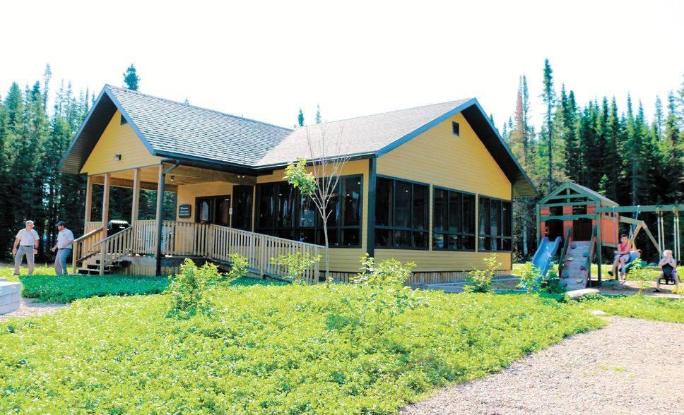 Un endroit plus familial dans la réserve des Laurentides