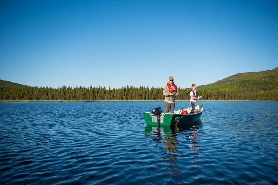 Prolongement de la saison de pêche en chalet dans la réserve des Laurentides