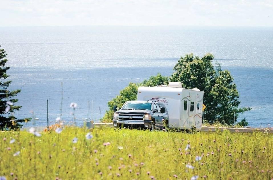 La cadence se maintient dans les terrains de campings du Québec