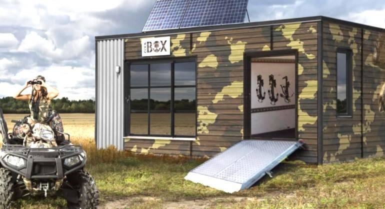 La CoolBox de chasse habitable à l'année présentée à Rimouski