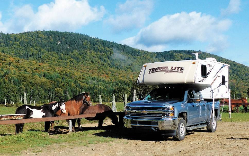 Vivre la liberté totale en caravane portée