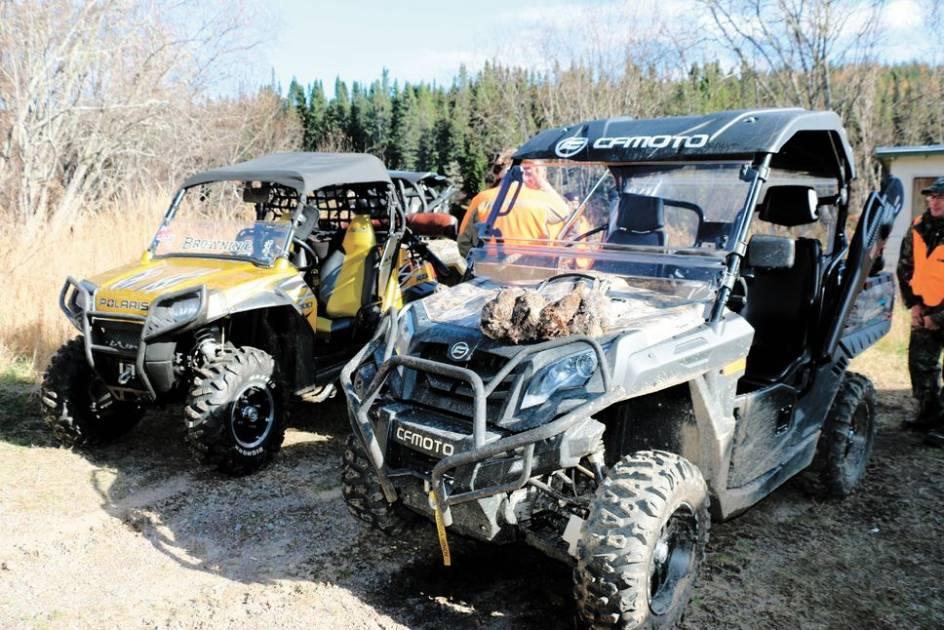 Bien préparer son quad, c'est essentiel avant la chasse