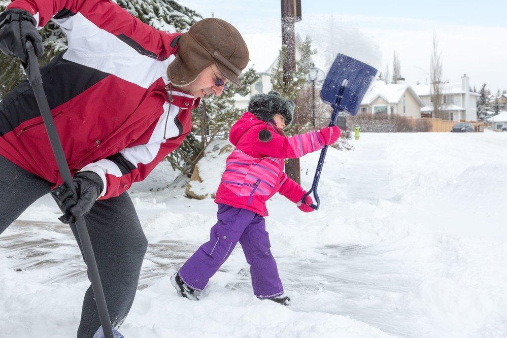 Calgary a reçu 40 centimètres de neige en seulement 12 heures