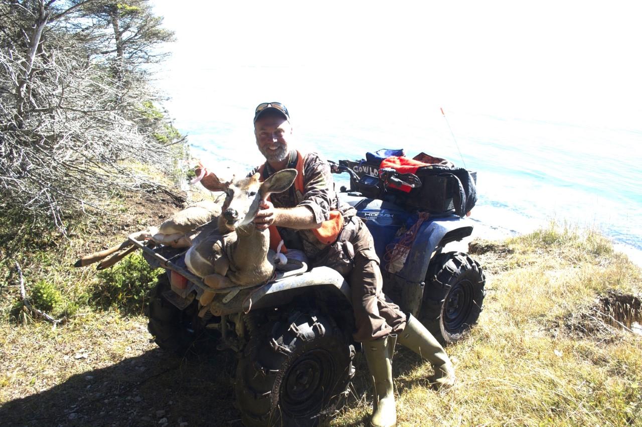 Stéphane Villemure, le guide de chasse devenu « Cowboy » de Chicotte-la-Mer