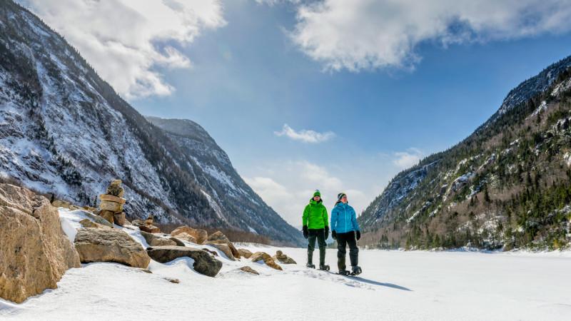 La Vallée des Glaces s'ouvre aux Hautes-Gorges dans Charlevoix