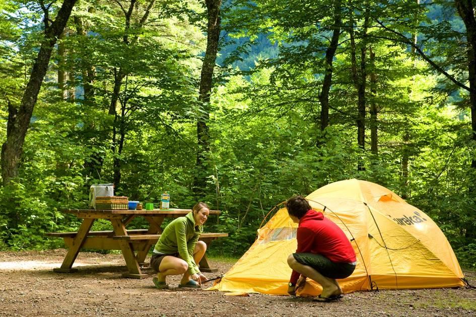 Réservez votre emplacement de camping et prêt-à-camper pour l'été 2019