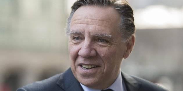 Un des auteurs du Pacte pour la transition rencontre François Legault