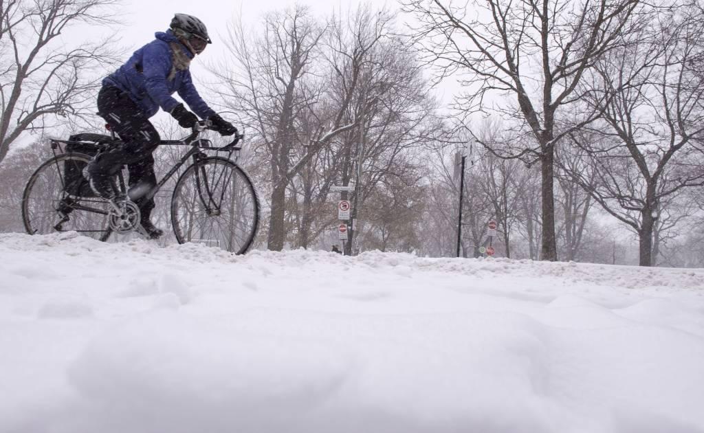 Nord du Saint Laurent: de 15 à 20 cm de neige tomberont jusqu'à samedi