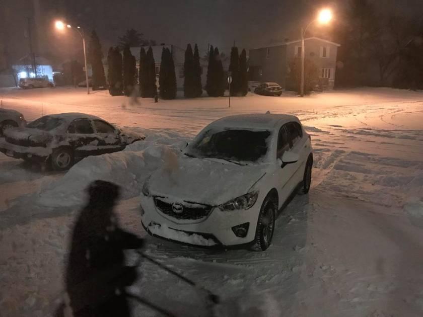 Une tempête de neige au Québec affectera surtout des régions de l'est