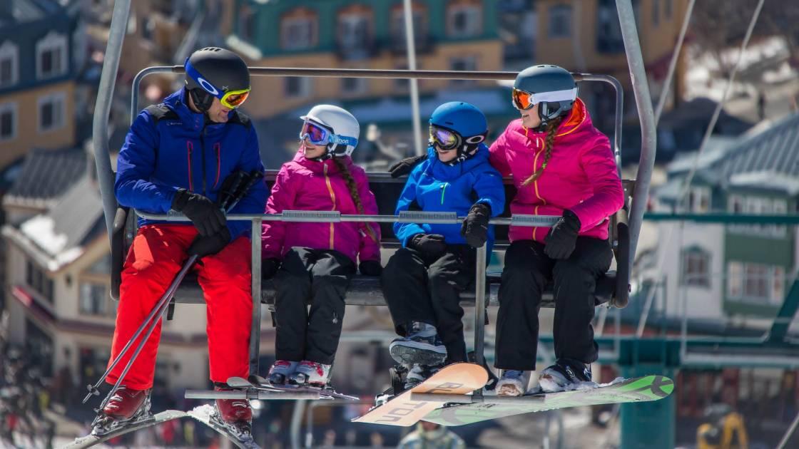 Un début de saison exceptionnel dans les stations de ski du Québec