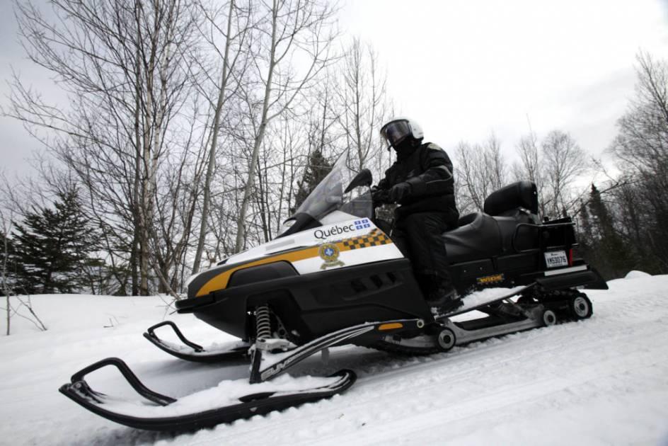 Un motoneigiste est retrouvé sans vie à Pont Rouge