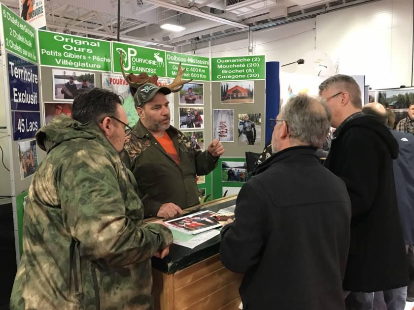 Les pourvoiries en vedette au cours de la fin de semaine à Québec