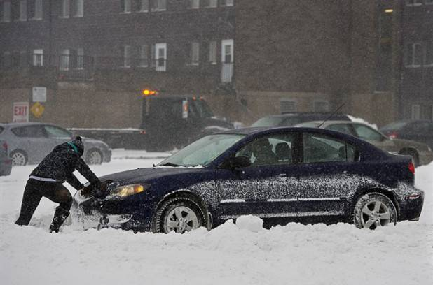 Le Sud Ouest a reçu moins de neige que prévu, mais l'Est n'y échappera pas