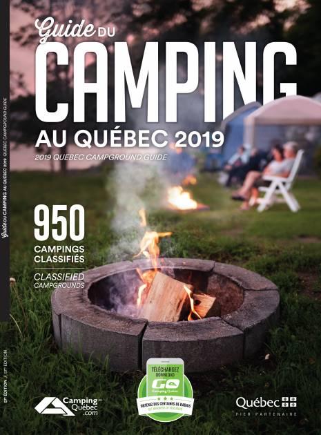 Lancement du Guide du camping au Québec 2019
