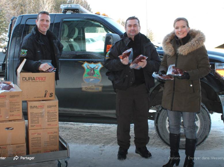 Les agents de protection de la faune ont remis 23 tonnes de venaison aux démunis