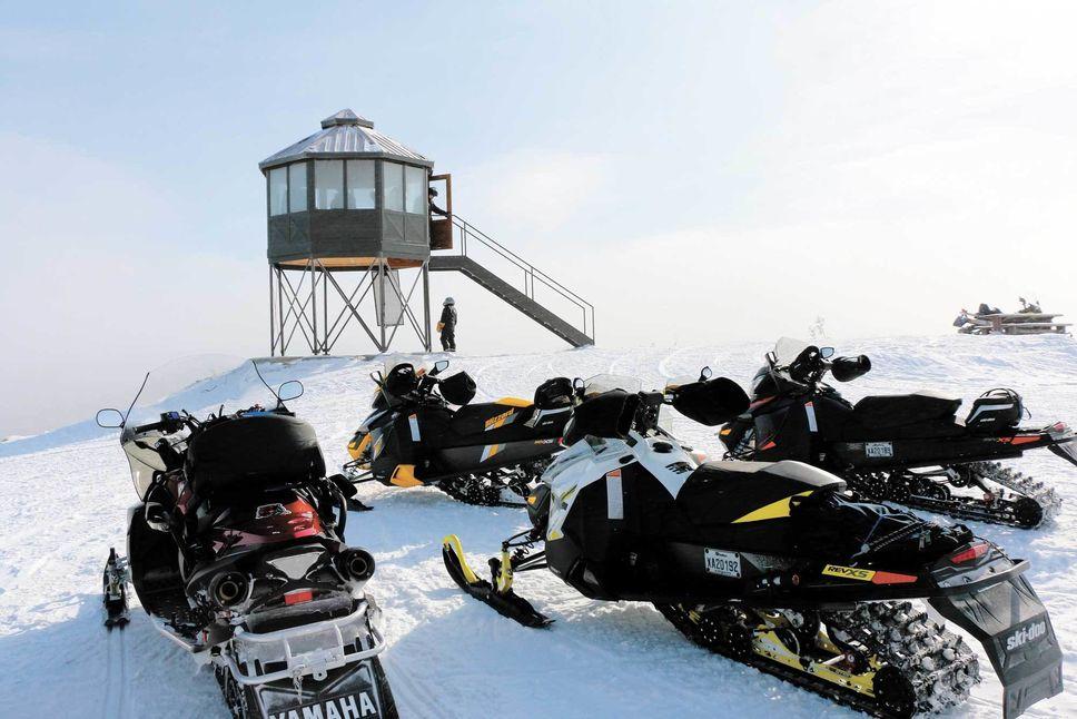Le paradis pour les motoneigistes au Saguenay-Lac-Saint-Jean