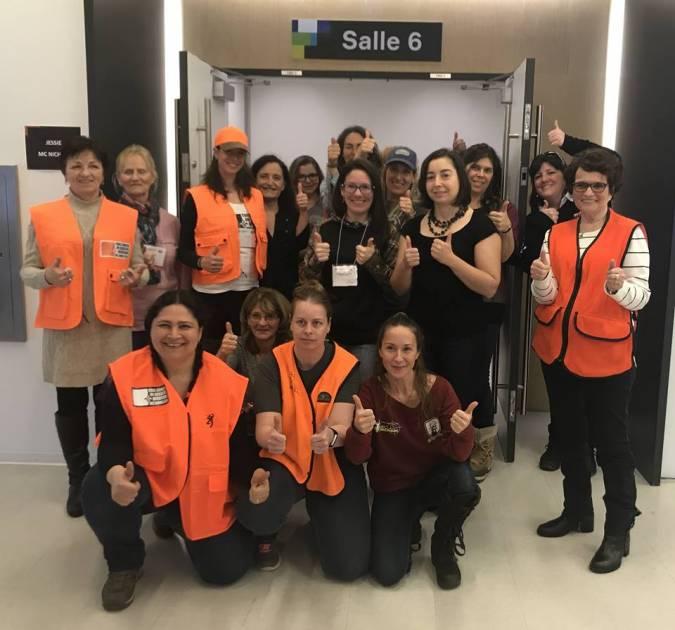 Registre québécois des armes à feu: les femmes prennent position