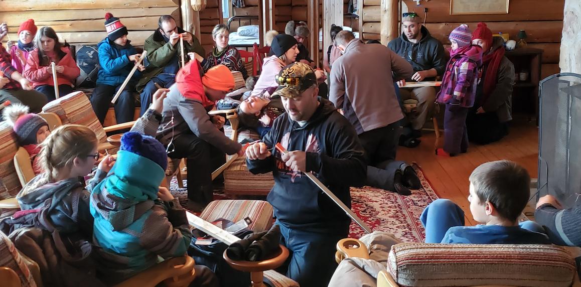 La ZEC-BSL initie avec succès 40 jeunes de la relève à la pêche blanche