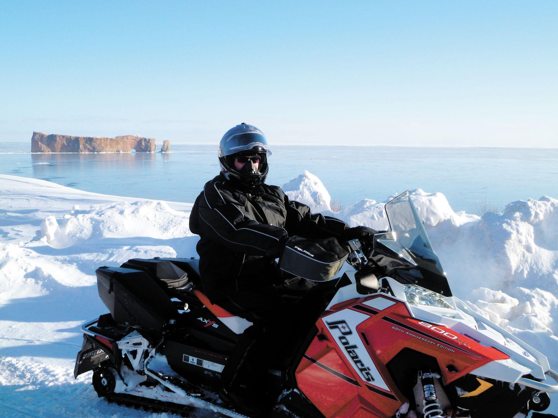 La Gaspésie, là où on fabrique la neige durant l'hiver