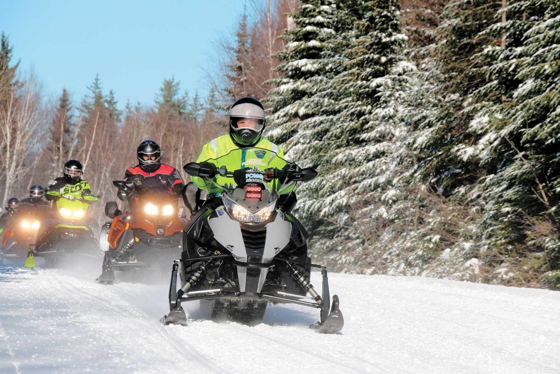 Une saison historique pour les motoneigistes québécois