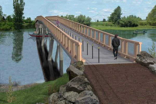 Construction d'un pont et de deux passerelles au parc des Îles-de-Boucherville