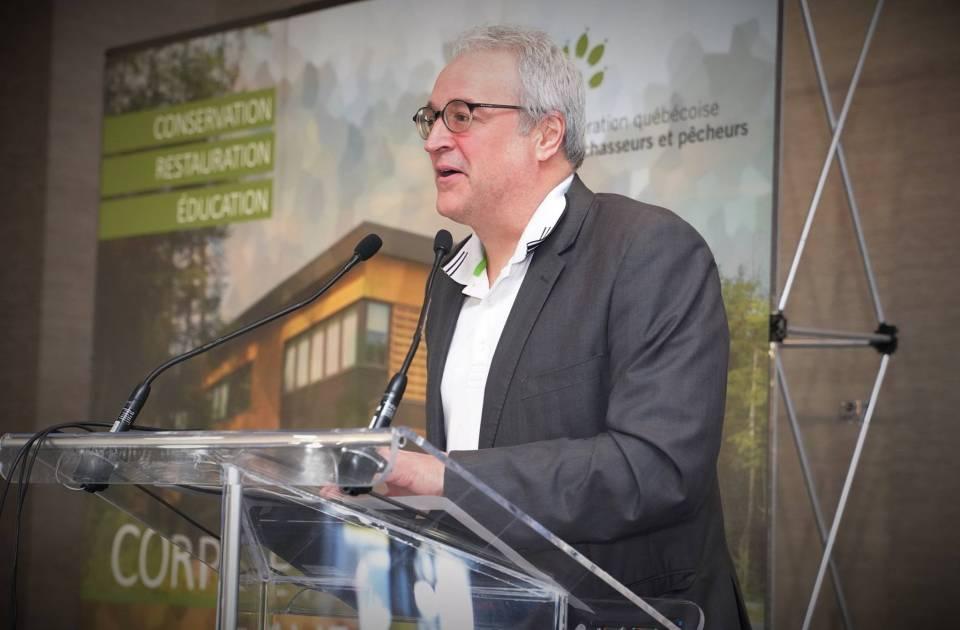 Pierre Dufour favorise le partenariat avec les partenaires fauniques