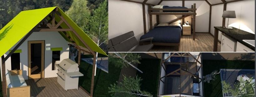 La Zec Chapais fera l'acquisition de tentes de type « glamping »