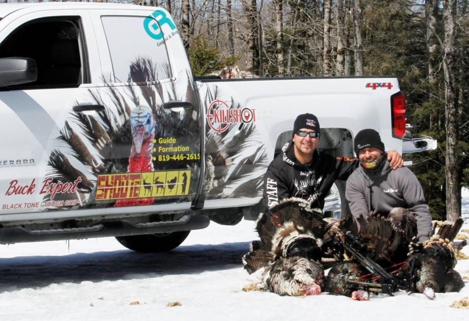 La 11e saison de la chasse du dindon sauvage est ouverte