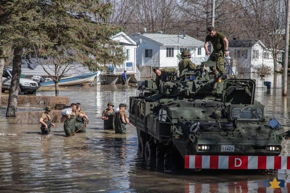 Inondations: la situation semble se stabiliser au Québec