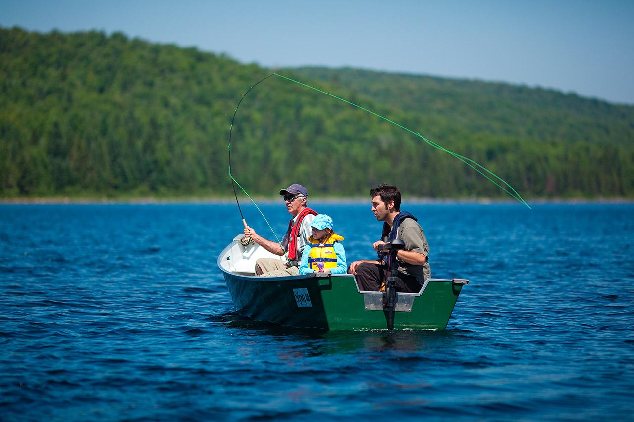 Ouverture reportée dans certains secteurs de pêche de la Sépaq