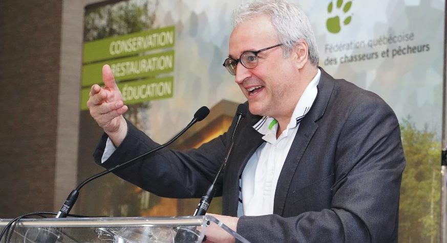 Le ministre des Forêts, de la Faune et des Parcs répond aux questions