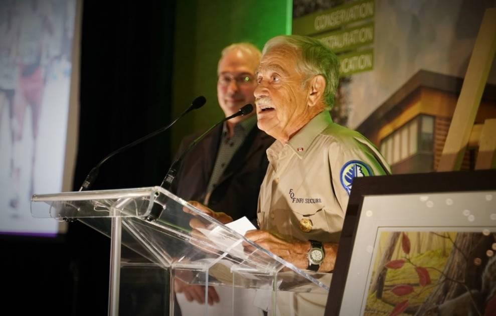 André Rashotte veut former les futurs chasseurs jusqu'à 90 ans!